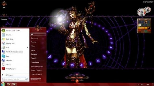 diablo3-theme-windows7