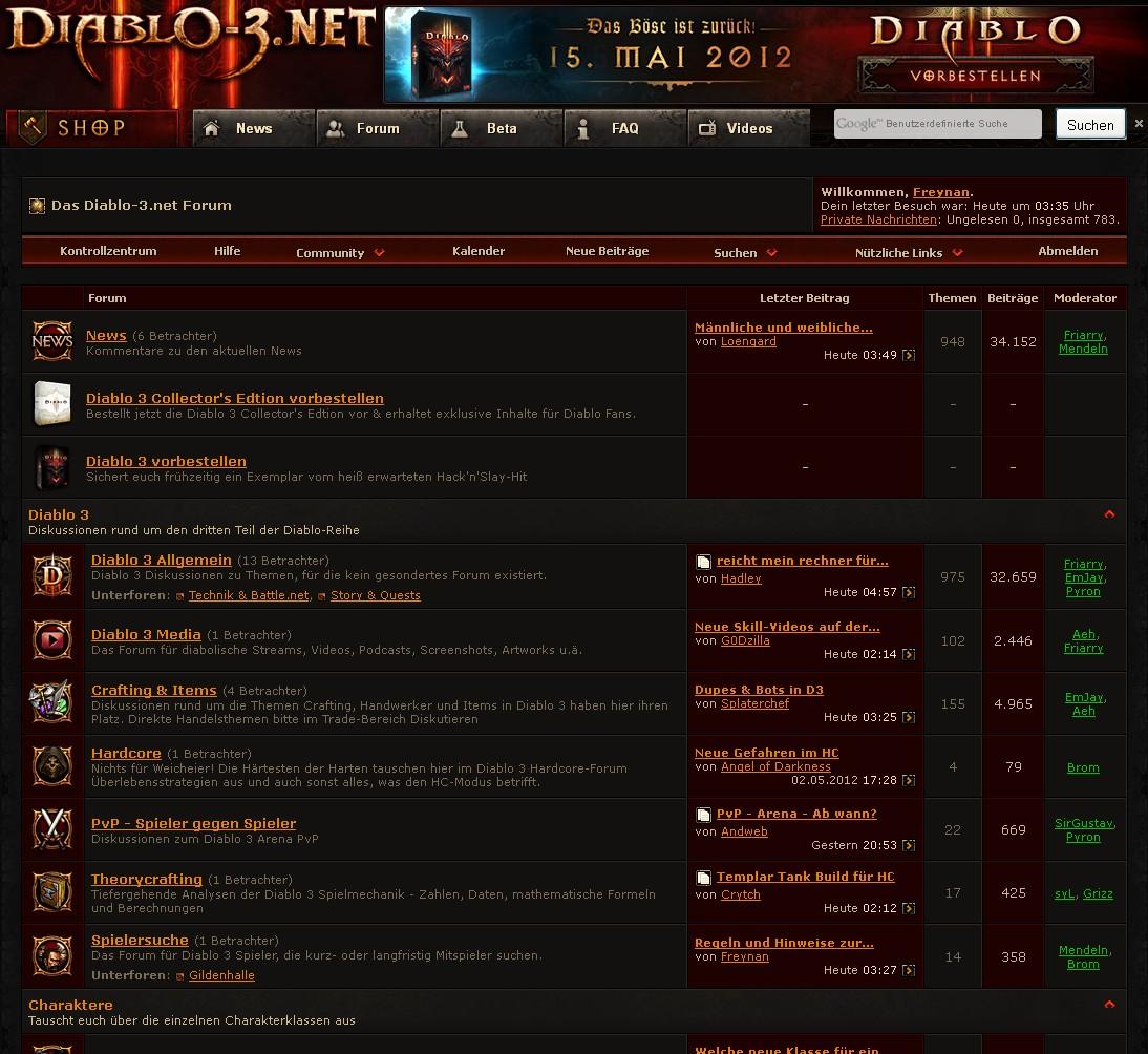 Neue diablo 3 foren hardcore crafting items for Diablo 3 crafting items