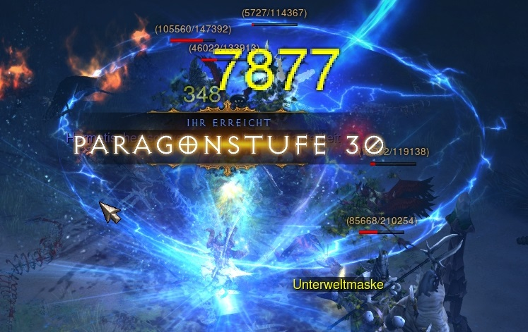 Paragon Erfahrung farmen in Diablo 3