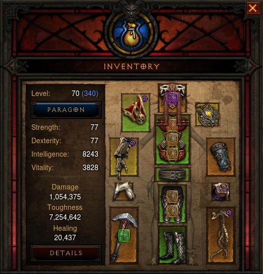 Diablo  Blackthornes Build