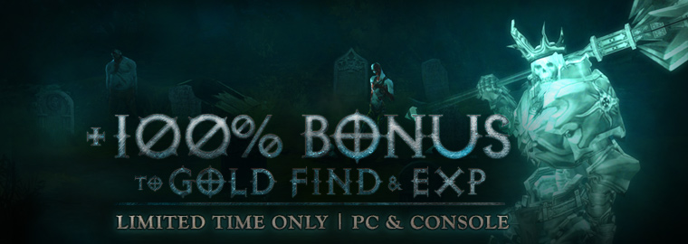 Diablo 3 Doppelte XP am Wochenende