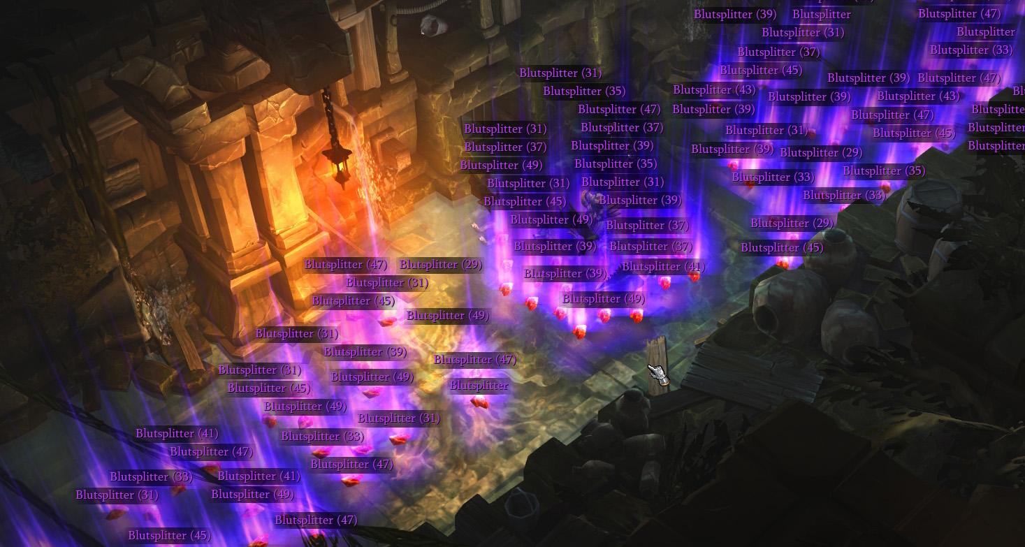 Blutsplitter in Diablo 3 farmen