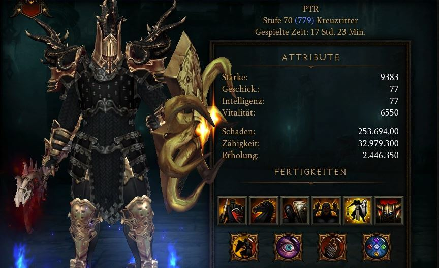 Diablo  Thorns Build