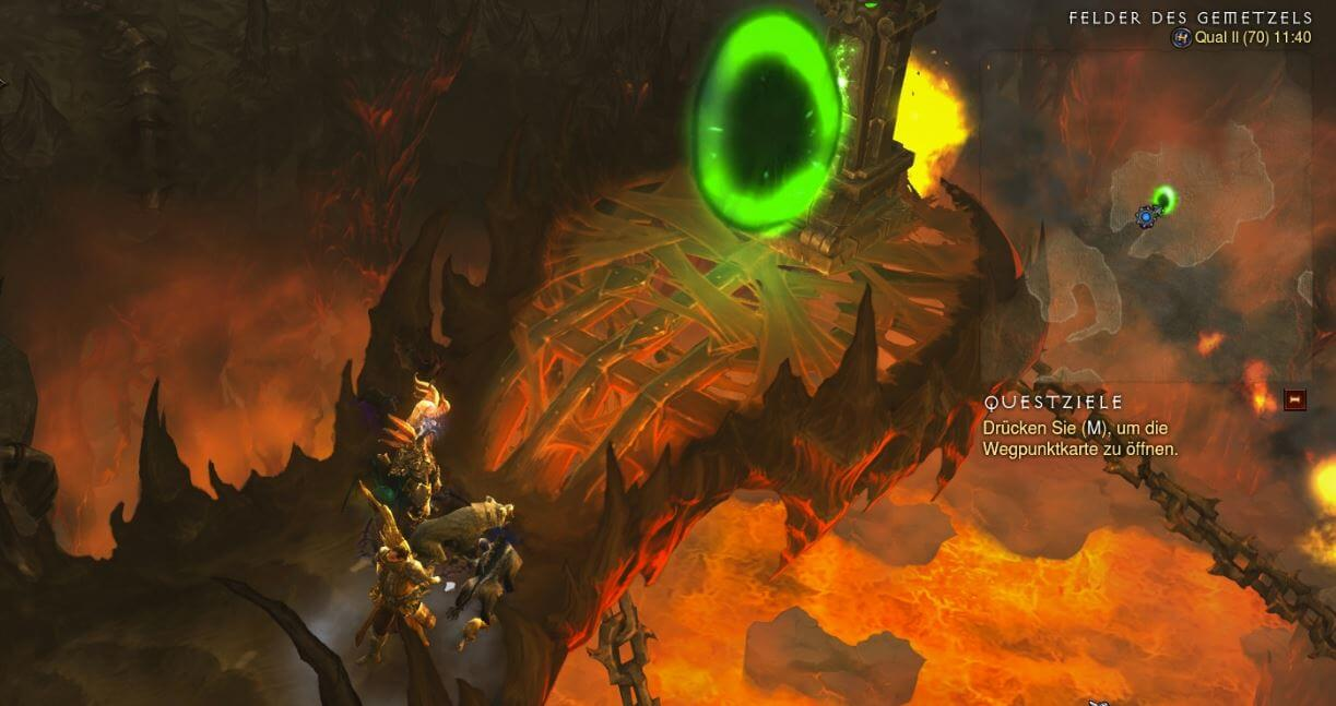 Diablo III | Set Dungeon Guide: Set portals, quests, wings and flags