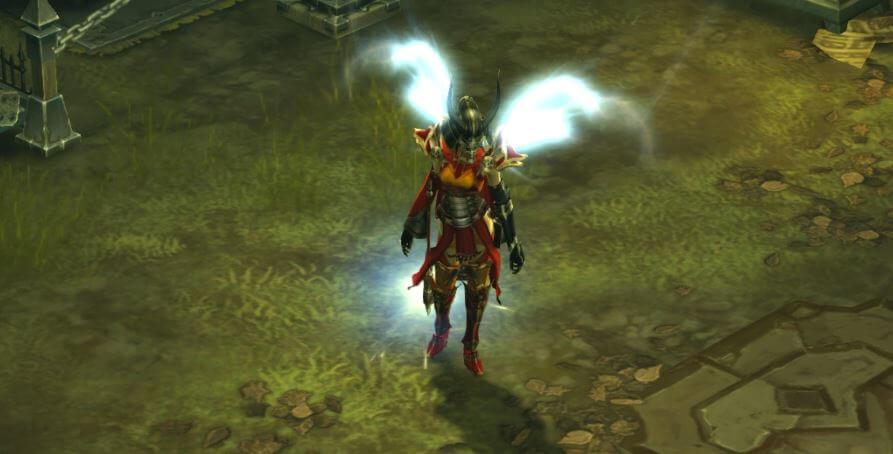Diablo 3 Engels Flügel. Ewiges Licht