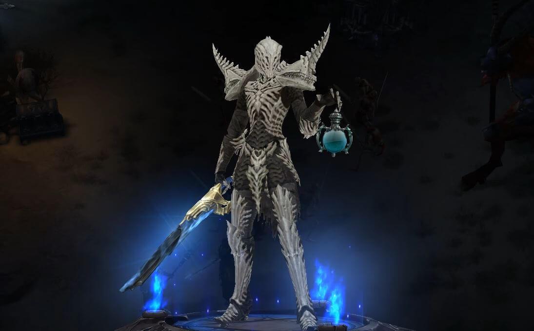 Diablo 3 Totenbeschwörer Set Knochen von Rathma