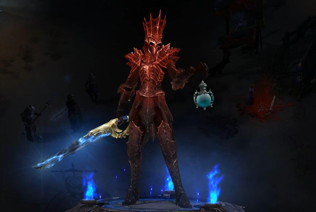 Diablo 3 Totenbeschwörer Set Trag Ouls Avatar