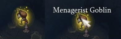 Diablo 3 Menagerist (Pet) Goblin auf der Karte