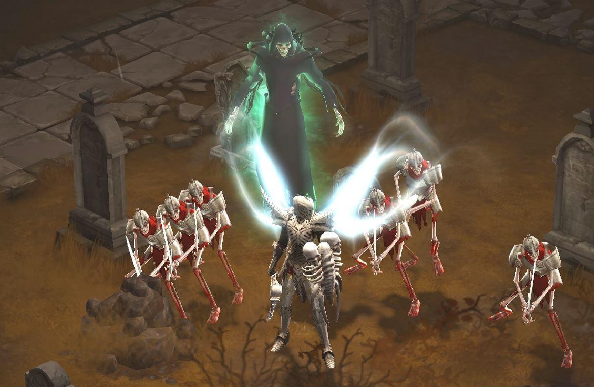 Diablo 3 Skelett-Pet Totenbeschwörer Build mit Rathma & Jesseth Set